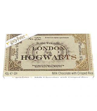 Harry Potter Chocolate Bar Ticket