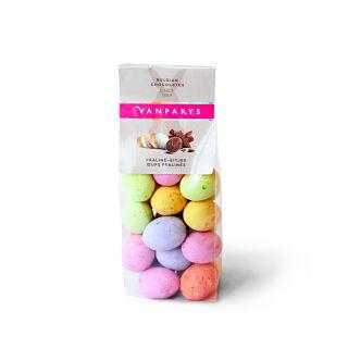 Bag of Colored  Sugar Coated Speckled Praline Eggs