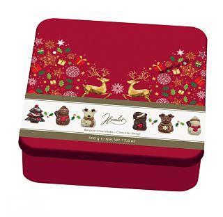Hamlet Christmas Chocolate Shapes Tin