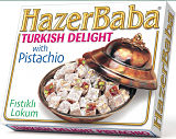 Hazer Baba Turkish Delight with Pistachio