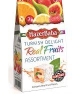 HazerBaba Turkish Delight Real Fruit Assortment