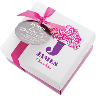 James Chocolates Gin & Prosecco Truffles