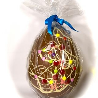 Giant Chocolate Wrapped Egg