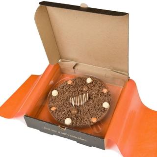 """Ultimately Orange Chocolate 10"""" Pizza"""