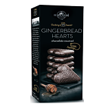 Kopernik Chocolate Gingerbread Hearts with Honey