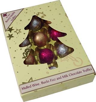 Ko-Koa Boozy Bauble Truffle Tree Gift Box