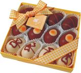 Decorated Praline Eggs