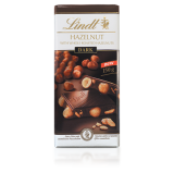 Lindt Dark Hazelnut Bar 150g