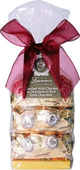 Laurence Galarie De Chocolat Cherries & Marzipan in Dark Chocolate