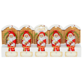 Lindt Chocolate Santas
