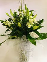 Lime & Ivory Vase Arrangement