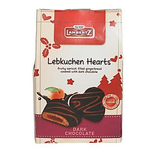 Lambertz Dark Lebkuchen Hearts