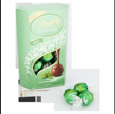 Lindt Lindor Mint Cornets