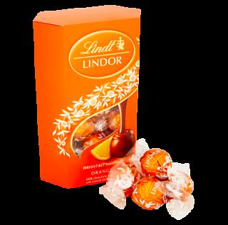 Lindt Lindor Orange Cornets