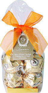 Laurence Galerie De Chocolat Whole Mandarins In Dark Chocolate