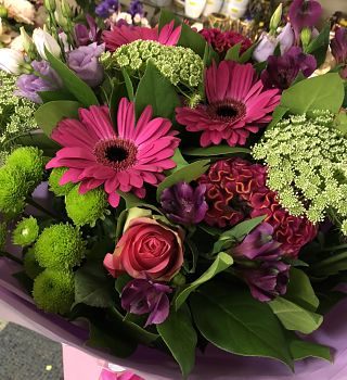 The Magenta & Lime Arrangement