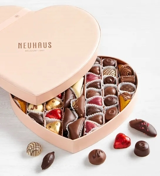 Heart Shaped Box of Luxury Gourmet Belgian Chocolates