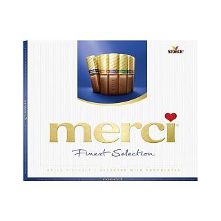 Merci Finest Selection Milk Chocolate