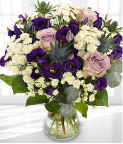 Violet Dawn Spring Bouquet