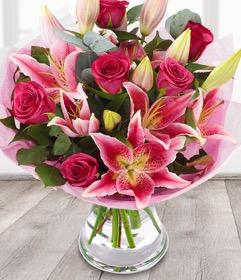 Spring Pink Smile Arrangement