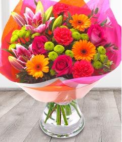 Vibrant Rainbow Bouquet