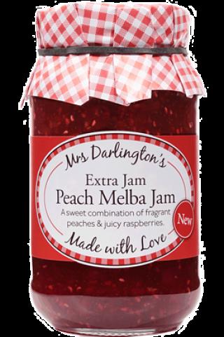 Mrs Darlington's Peach Melba Jam