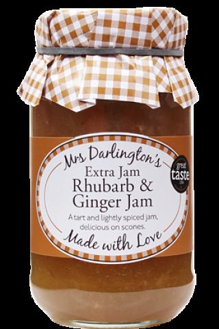 Mrs Darlington's Extra Jam Rhubarb & Ginger Jam