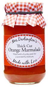 Mrs Darlingtons Thick Cut Orange Marmalade