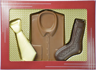 Shirt and Tie Chocolate Set