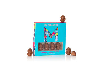 Montezuma's Milk Chocolate & Cranberry Snowmen