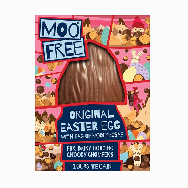 Moo Free Sea Salt & Caramel Easter Egg