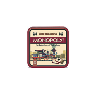 Monopoly Tin with Milk Chocolate Game