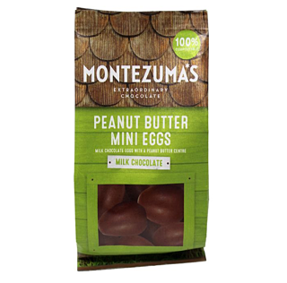 Montezuma's Milk Chocolate Peanut Butter Mini Eggs