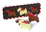 Mr Stanley's Chocolate Scottie Dogs