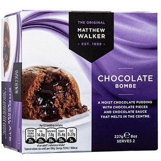 Matthew Walker Chocolate Bombe