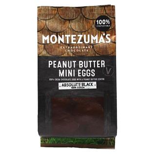 Montezuma's Absolute Black Peanut Butter Mini Eggs