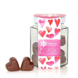 Milk Chocolate Orange & Geranium Jar of Hearts