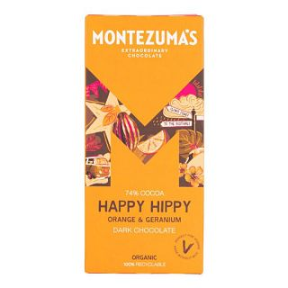 Montezuma's Orange and Geranium Bar