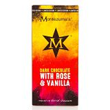 Montezuma's Dark Chocolate Bar With Rose And Vanilla