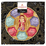 Niederegger Nougat Christmas Stars And Santa Claus