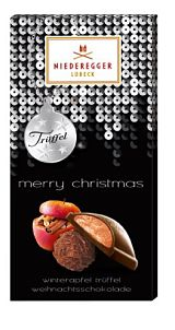 Niederegger Winter Apple Chocolate Truffle Bar