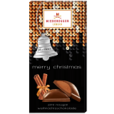 Niederegger Christmas Cinnamon Chocolate Nougat Bar