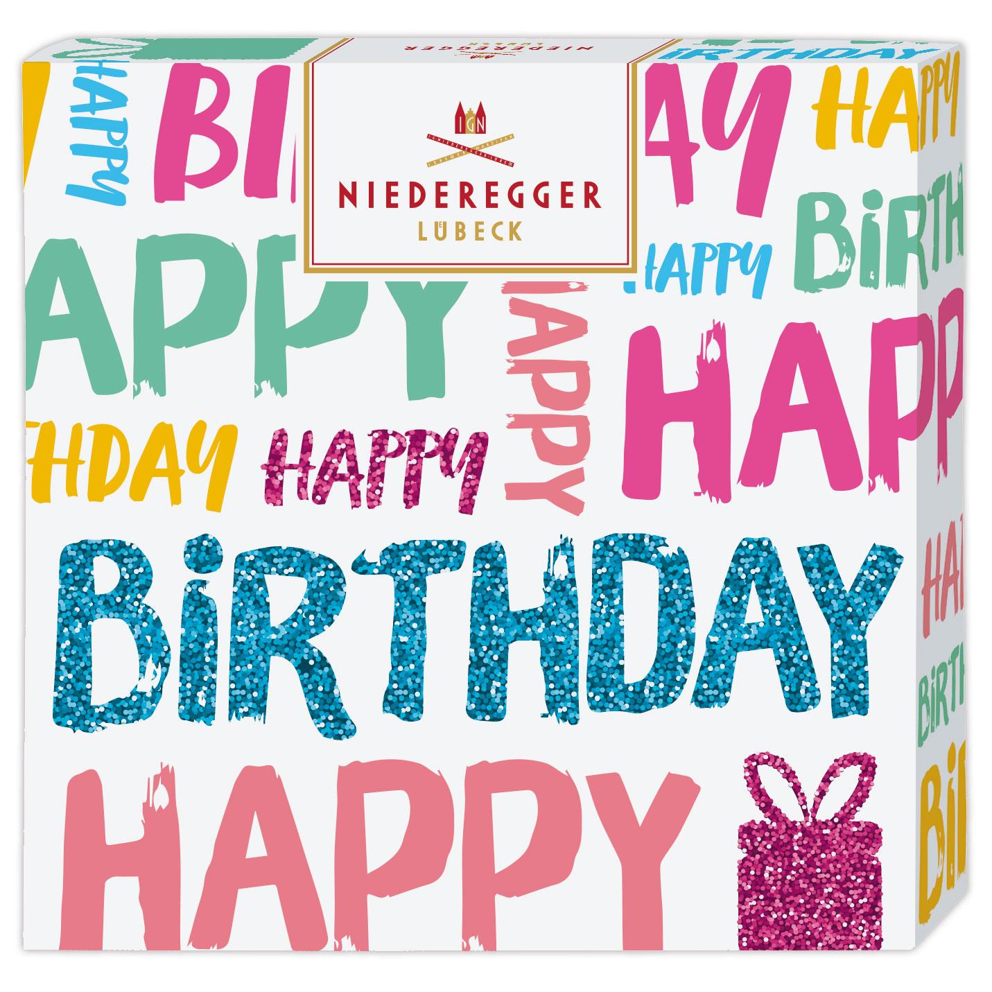Niederegger Happy Birthday Assorted Gift Box