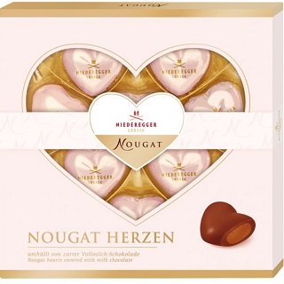 Niederegger Nougat Chocolate Hearts
