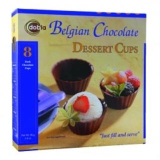 Belgian Chocolate Dessert Cups