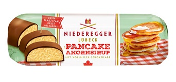 Niederegger Marzipan Pancake and Maple Syrup bar