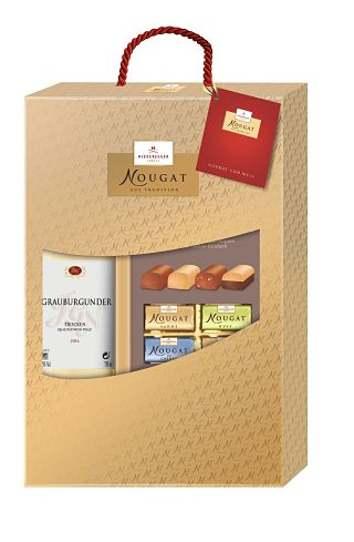 Niederegger Nougat and Wine Gift