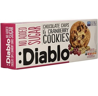 Diablo Chocolate Chips and Cranberry Cookies