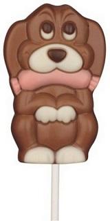 Chocolate Dog Lolly