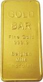 Milk Chocolate Gold Bars